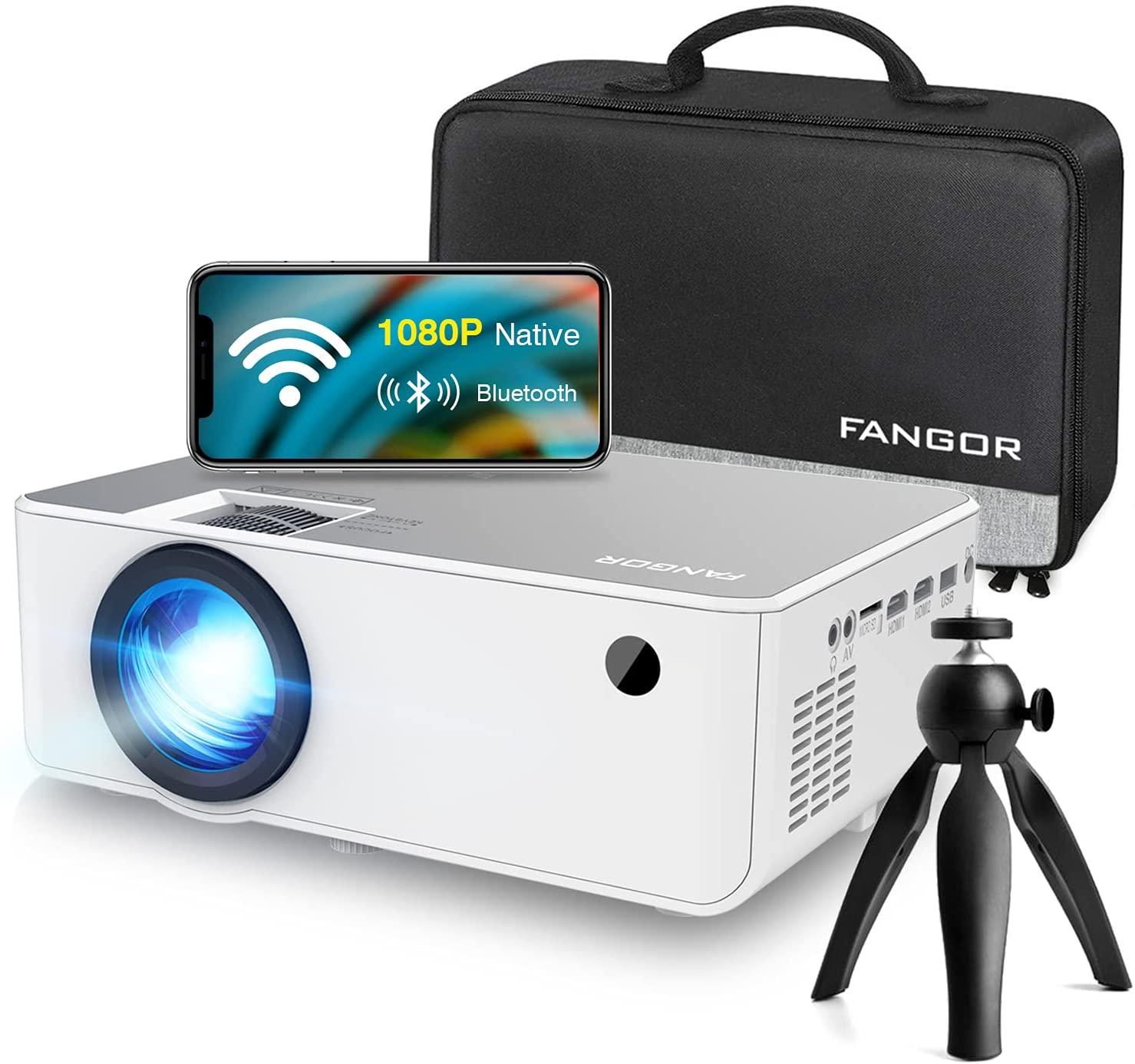 "FANGOR 230"" Portable LED HD Projector"